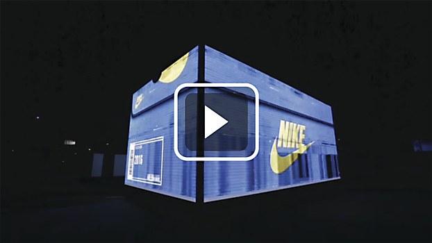 Nike pop-up store   Communication Arts