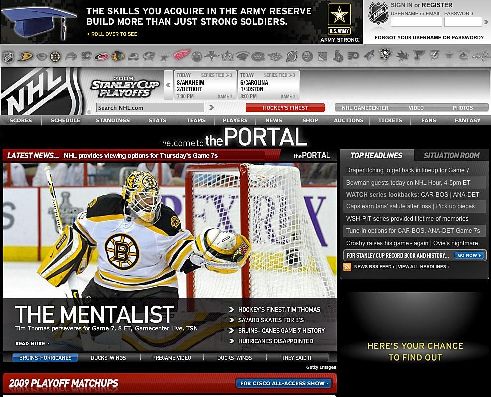 The National Hockey League Communication Arts