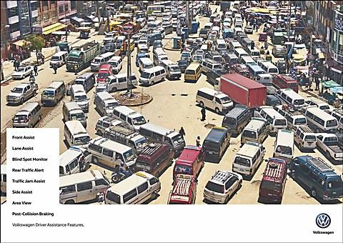 Volkswagen Argentina print ads