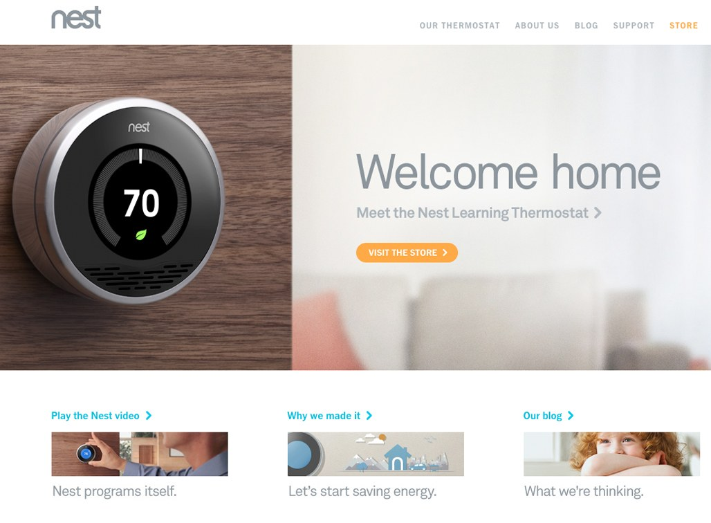 Nest | The Learning Thermostat | Communication Arts