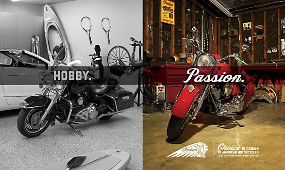 Indian Motorcycle Ads Communication Arts