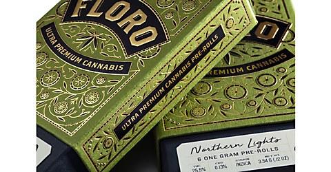 Floro Cannabis packaging