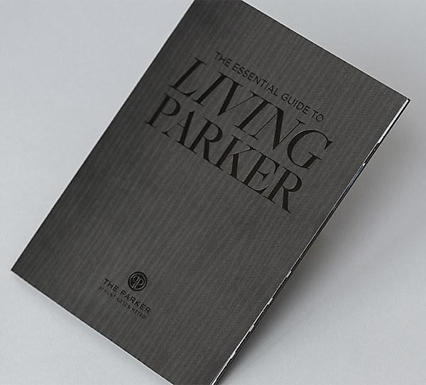 Parker brochure | Communication Arts