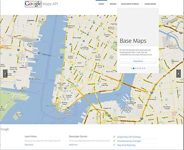 Google More Than A Map | Communication Arts on bing maps developer, google maps distance, google map builder,