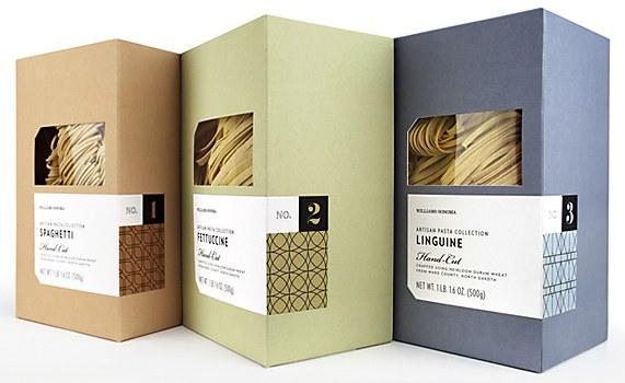 Williams Sonoma Artisan Pasta Packaging Communication Arts