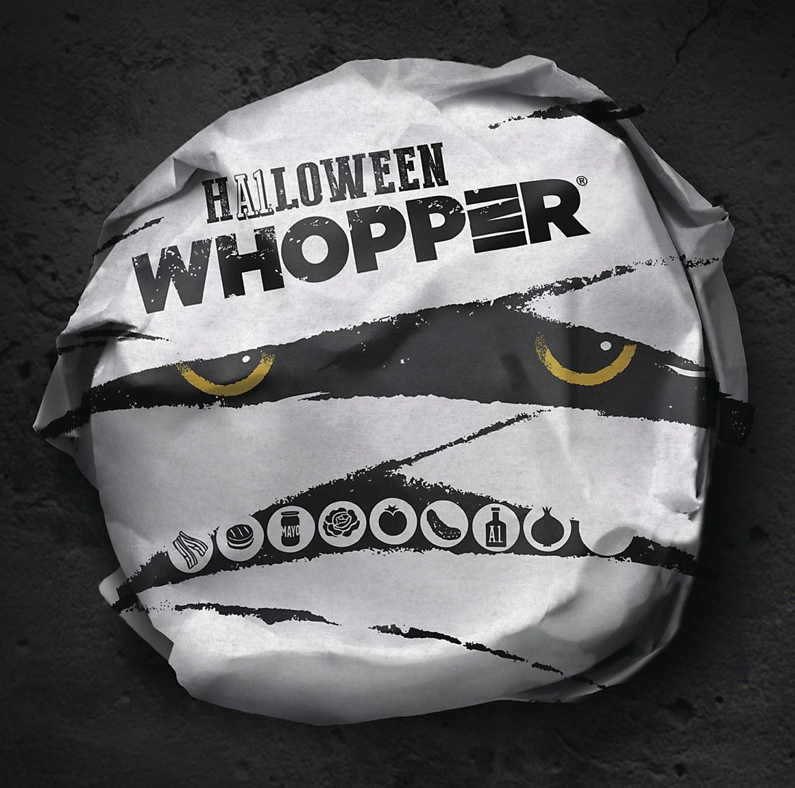 Burger King Halloween Whopper   Communication Arts