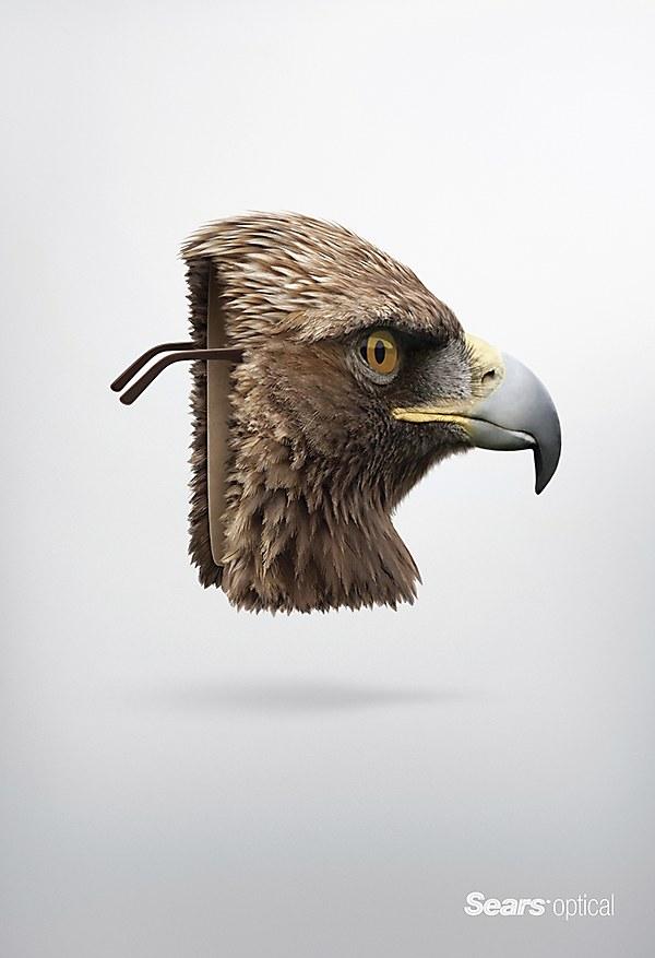 sears mask  eagle